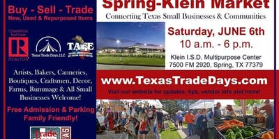 2020 Spring-Klein Market: Texas Trade Days