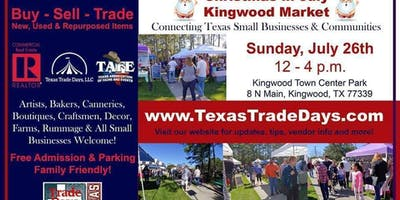 2020 Kingwood Market: Texas Trade Days