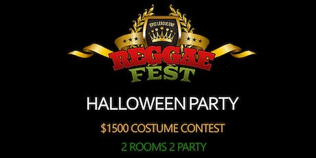 Reggae Fest Halloween Party 21 & Over $1500 Costume Contest at Copacabana  tickets