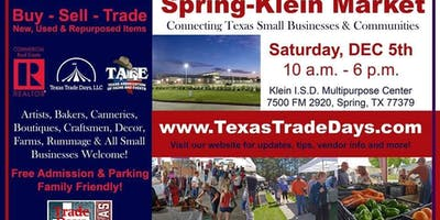 2020 Spring-Klein Christmas Market: Texas Trade Days
