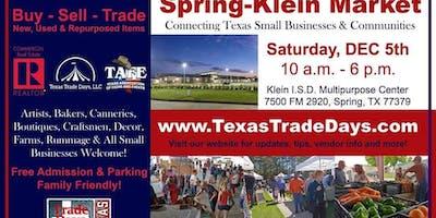 2020 Spring-Klein Christmas Market: Texas Trade Days