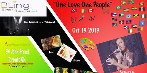 """""""OneLoveOnePeople """" Black & Caribbean Heritage Community&Cultural Event"""