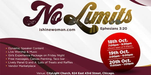 2019 iShine Women's Conference | No Limits