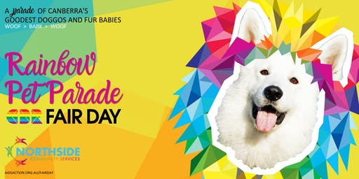 Rainbow Pet Parade @CBR Fair Day 2019