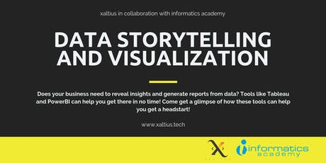 Data Storytelling and Visualization tickets