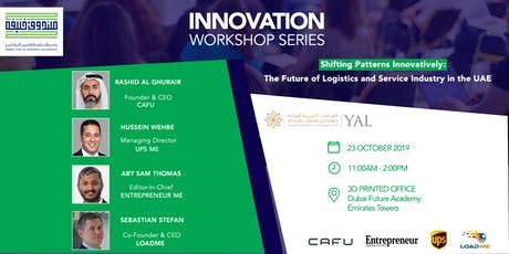 Shifting Patterns Innovatively: Future of UAE Logistics & Service Industry tickets