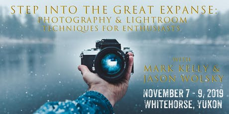 Into the Great Expanse: Photography & Lightroom Techniques for Enthusiasts tickets