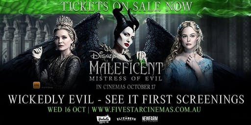 Maleficent: Mistress of Evil ADVANCE SCREENING