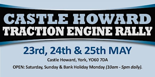 Castle Howard Traction Engine Rally 2020 (Buy Trading Space)