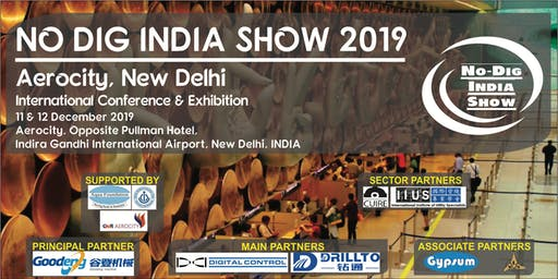 No Dig India Show 2019 - International Conference & Exhibition