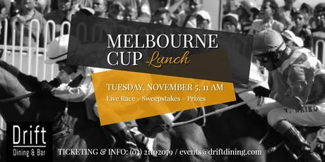 Melbourne Cup At Drift tickets