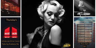 Gatsby's Speakeasy Salon Featuring Anastasiya Sky