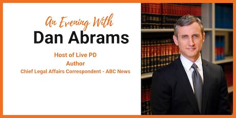 An Evening with Dan Abrams tickets