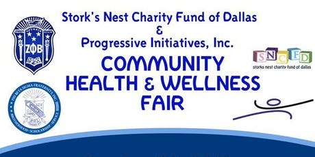 Community Health and Wellness Fair tickets