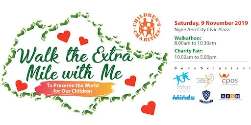The Children's Charities Association (CCA) Walkathon & Fair