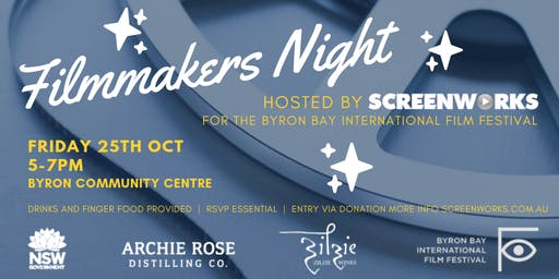 Filmmakers Night - hosted by Screenworks