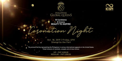 Miss Philippines Global Queens Grand Coronation Night