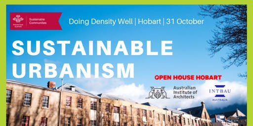 Sustainable Urbanism Roadshow - Hobart