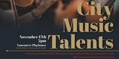 City Music Talents Concert tickets