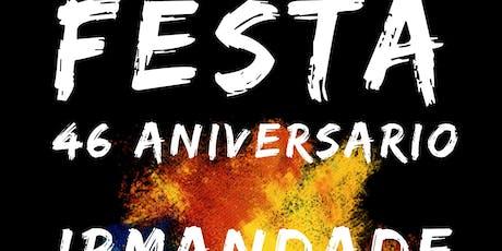 Festa 46 aniversario Irmandade Galega - Fête 46ème anniversaire Irmandade G billets