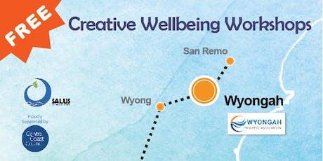 Creative Wellbeing Workshop - Positive Psychology tickets