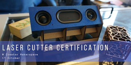 Laser Cutter Certification [1 month membership included] tickets