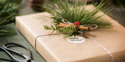 Creative Christmas Gift Wrapping & Afternoon Tea