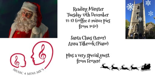 Music 4 Mini-Me's Christmas Celebration at Reading Minster with Santa Claus
