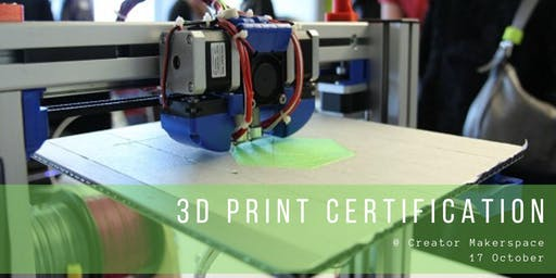 3D Print Certification [1 month membership included*]