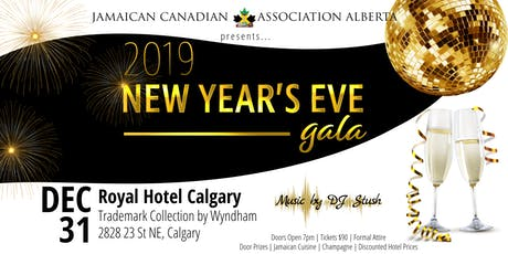 Jamaican New Year's Eve Gala 2019 tickets