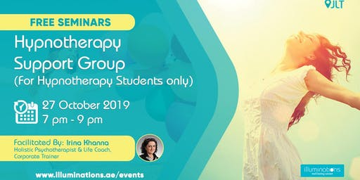FREE Hypnotherapy Support Group with Irina Khanna