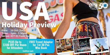 USA Holiday Preview tickets