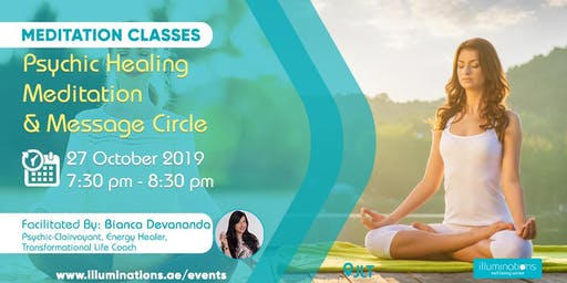 Psychic Healing Meditation & Message Circle with Bianca Devananda