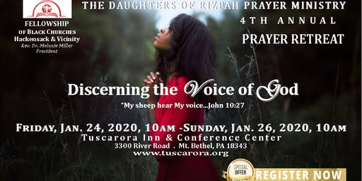 Daughters of Rizpah Prayer Retreat 2020
