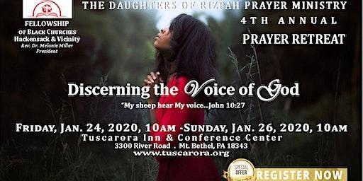 Daughters of Rizpah Prayer Retreat 2020