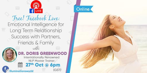 FREE! FACEBOOK LIVE: Emotional Intelligence for Long Term Relationship