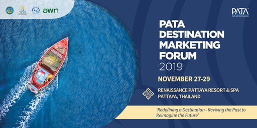 PATA Destination Marketing Forum 2019, November 27-29