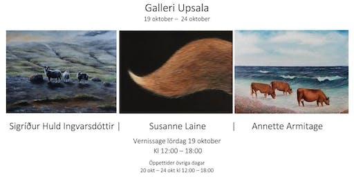 3 x REALISM  Sigríður Huld Ingvarsdóttir | Susanne Laine | Annette Armitage