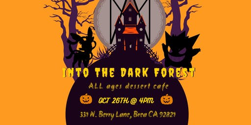 Into The Dark Forest: Halloween Cafe