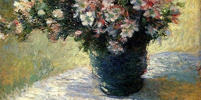 Flowers in Impressionism (SATURDAY OIL PAINTING COURSE 12/10, 19/10, 26/10, 02/10) 12:00-2:00