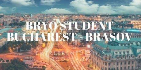 Bryo Student StandUp Brasov - Bucharest tickets