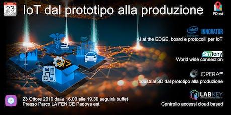 IoT: dal prototipo alla produzione biglietti