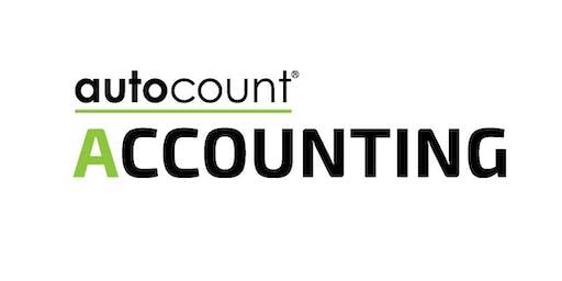 Oct 24th, 2019 Autocount Basic Classroom Training @ Damansara