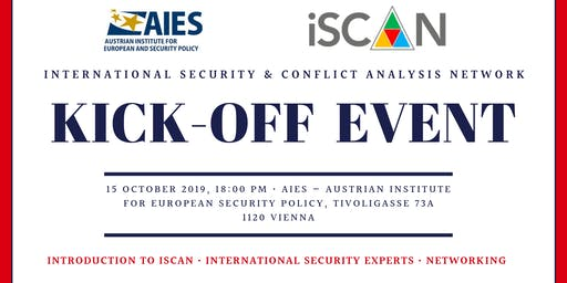 iSCAN Kick-Off Event