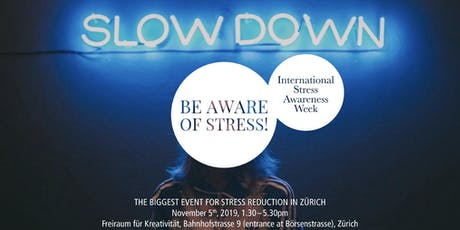 Slow Down: Coaching Stations to reduce Stress! Tickets