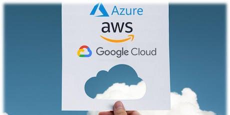 AZURE, AWS, Google Cloud Computing Course - 2 Days tickets