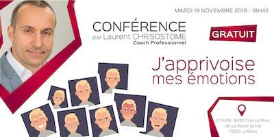 Conférence gratuite : J'APPRIVOISE MES ÉMOTIONS