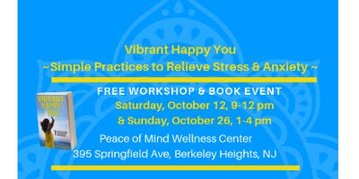 Vibrant Happy You ~ Yoga Wellness & Book Event
