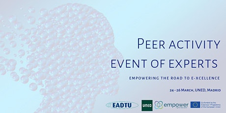 Peer activity event of experts: EMPOWERING the road to E-xcellence tickets