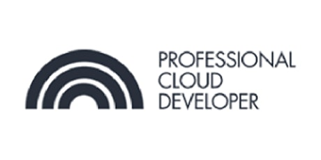 CCC-Professional Cloud Developer (PCD) 3 Days Training in Eindhoven tickets